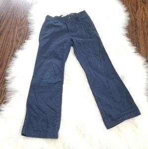 Old Navy Dark Blue Boy Trousers Adjustable Waist 5